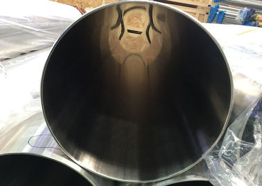 China 12'' OD Grade TP304 Polished Stainless Steel Sanitary Tubing , ID 0.5um & OD 0.8um factory