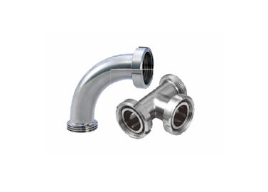 China Durable Stainless Steel 316 Pipe Fittings Connectors 3A Hygienic Standard factory