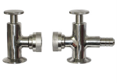 China Hygienic Grade Tri Clamp Sample Valve ISO9001 Approved , R1.6m External Surface Finish factory