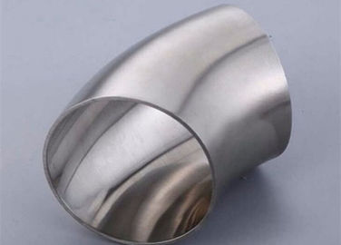 ASME BPE Stainless Steel Sanitary Pipe Fitting 45 Degree Elbows Butt Weld