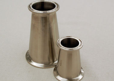 Stainless Steel DIN Sanitary Fittings 1.4404/1.4301 L-Line Reducer Fittings 28x58x1.5MM